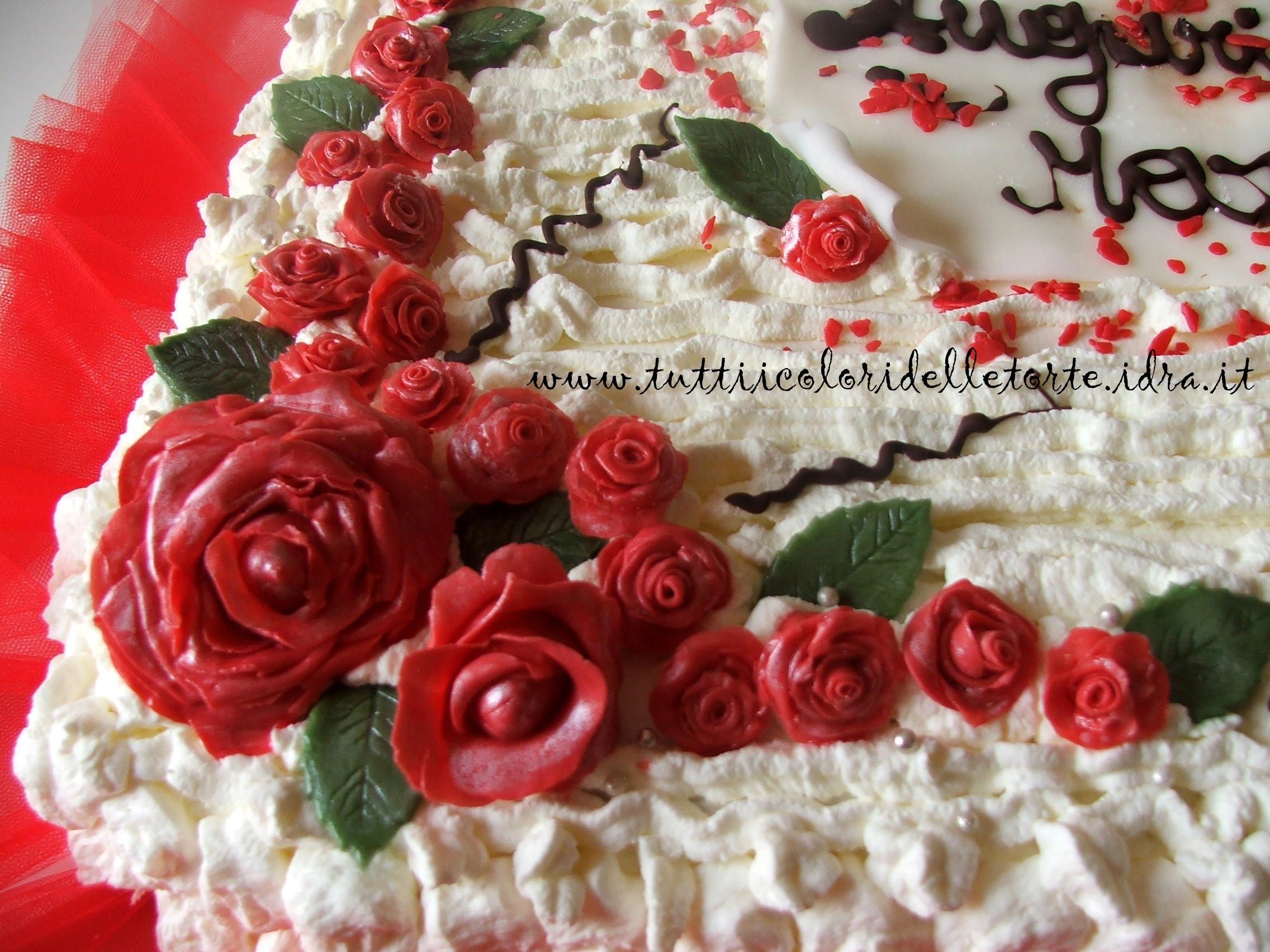 Ben noto Torta 50 anni - Tutti i Colori delle Torte Tutti i Colori delle Torte LZ84