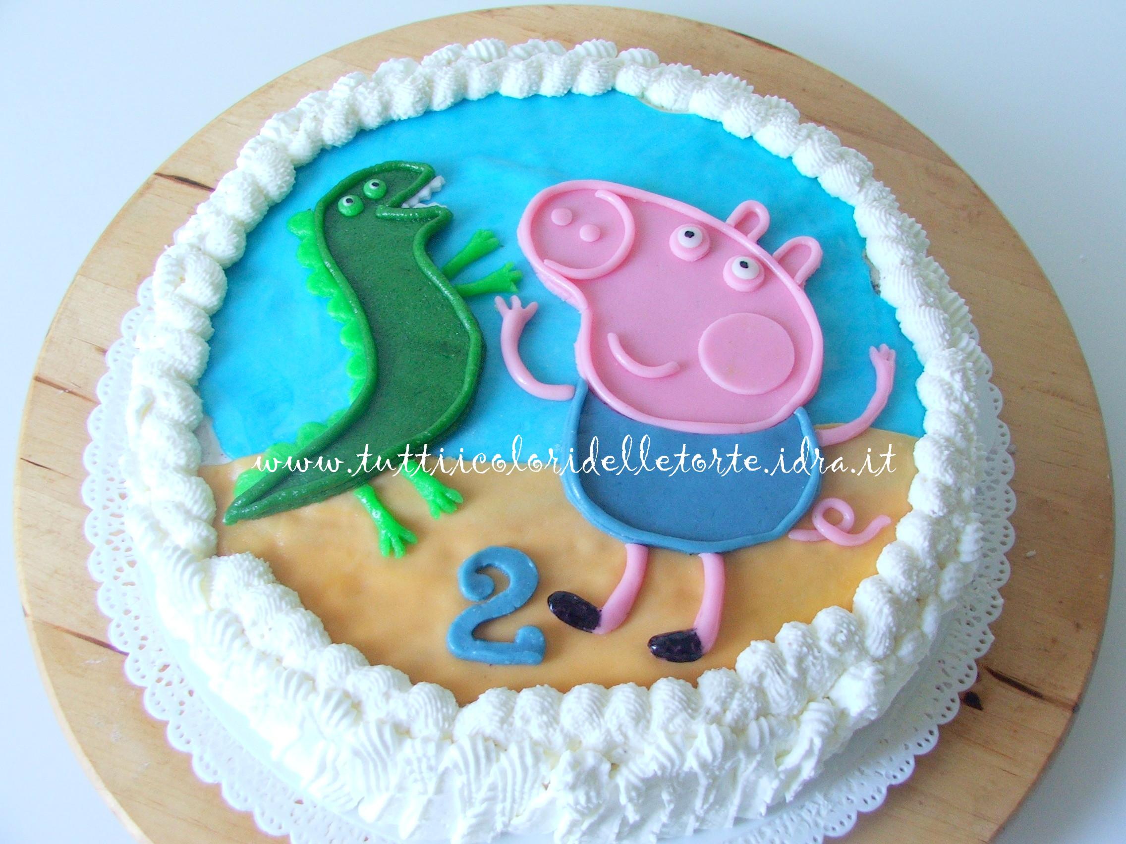 Un'altra torta di compleanno, per festeggiare i due anni di un