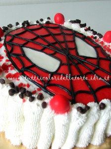 torta spiderman-mask
